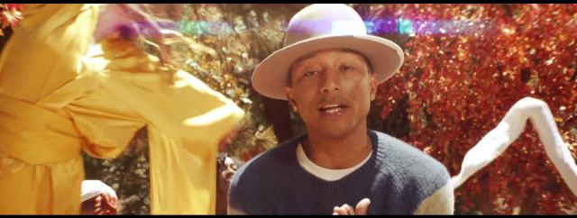 Pharrell Williams 'Gust of Wind'